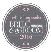 Washingtonian 2013 Best Wedding Vendor